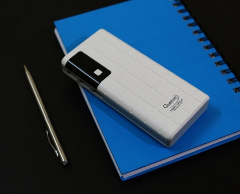 powerbank met logo