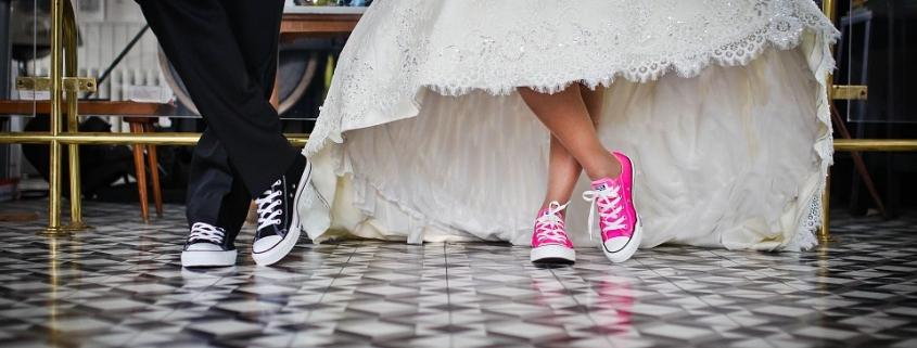 Trouwjurk schoenen + lingery