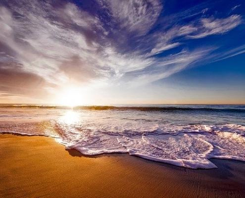 vakantie strand